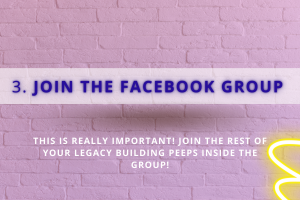 Join the facebook group - private practice bootcamp